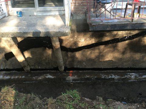 Réparation d'un drain français